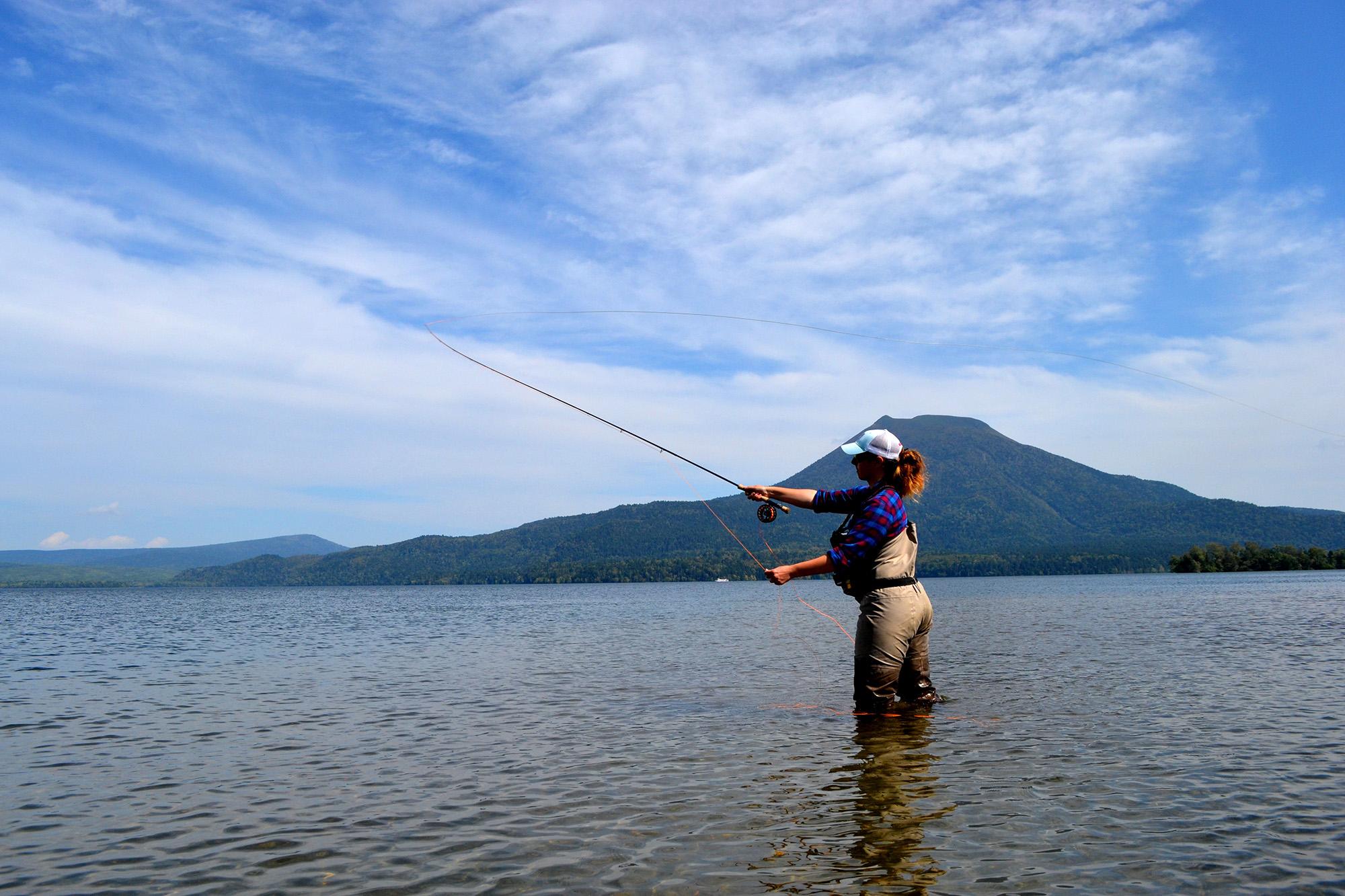Shigeru Takada, a Guide who Knows the Depths of Lake Akan